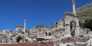 Burdur'un Ağlasun ilçesinde bulunan, Sagalassos Antik Kenti, 27 bin 740 ziyaretçi ağırladı