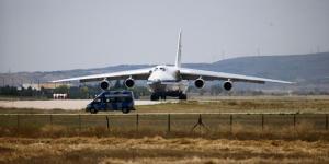 S-400 Uzun Menzilli Bölge Hava ve Füze Savunma Sistem malzemelerinin sevkiyatı devam ediyor.15. uçak Mürted Hava Üssü'ne indi