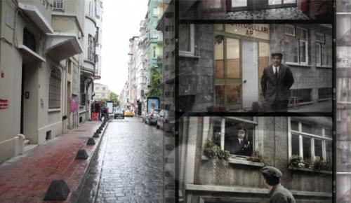 Kapıcılar Kralı ve Şendul Şaban filmlerine ev sahipliği yapan Güneşli Sokak'ta Yeşilçam'ın izleri bugün hala görülebiliyor