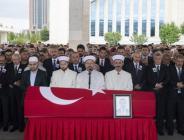 Türkiye'nin Erbil Başkonsolosluğunda görevli Diplomat Köse'nin cenazesi Ankara'da toprağa verildi