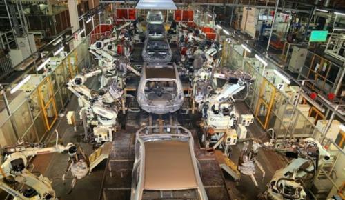 Kocaeli'de kurulu otomotiv tesislerinde, ocak-haziran döneminde günde ortalama 1561 taşıt üretildi
