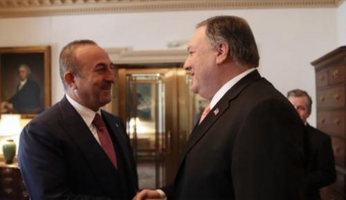 Dışişleri Bakanı Çavuşoğlu, ABD Dışişleri Bakanı Mike Pompeo ile görüştü