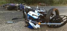 Bursa'nın Yenişehir ilçesinde 3 motosikletin karıştığı kazada 13 yaşındaki çocuk hayatını kaybetti