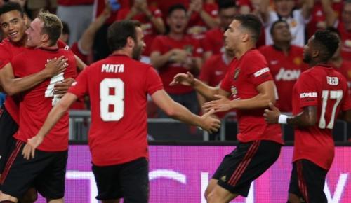 2019 Uluslararası Şampiyonlar Kupası'nda Manchester United, Inter'i 1-0 mağlup etti