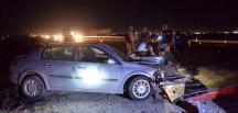 Mardin'de 2 otomobilin çarpıştığı kazada, 3 yaşındaki çocuk hayatını kaybetti, 3 kişi yaralandı