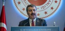 """Bakan Koca, """"Türkiye'de 2018 yılında tedavi olan toplam uluslararası hasta sayısı 500 bini aşmıştır"""