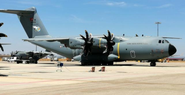 A400M Projesi kapsamında 9'uncu uçağın bugün Türkiye'ye getirilerek, Kayseri 12. Hava Ulaştırma Üs Komutanlığı'na konuşlandırılması bekleniyor