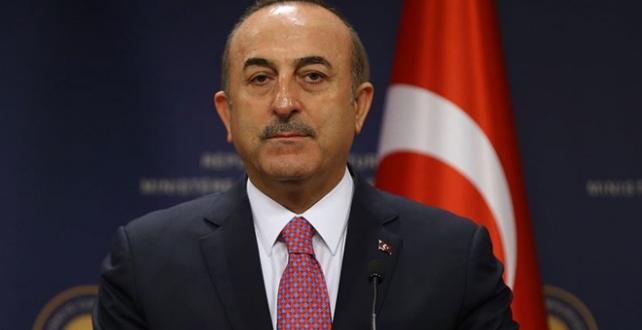 """Bakan Çavuşoğlu, """"Nasıl Afrin'den temizlendiyse, nasıl Cerablus'tan DEAŞ'lılar temizlendiyse Fırat'ın doğusundan da temizleyeceğiz"""