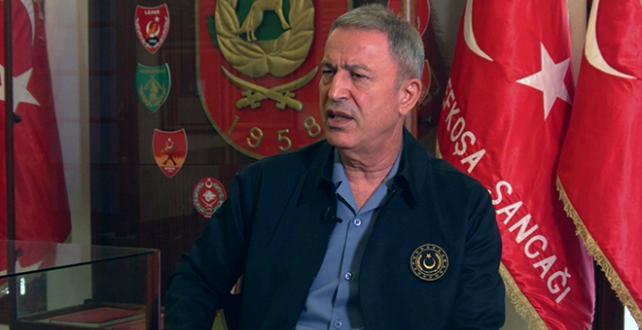 Bakan Akar, atılacak ne adım varsa, Türkiye Cumhuriyeti'nin, Türk Silahlı Kuvvetlerinin hazır olduğunu herkesin bilmesini istiyoruz