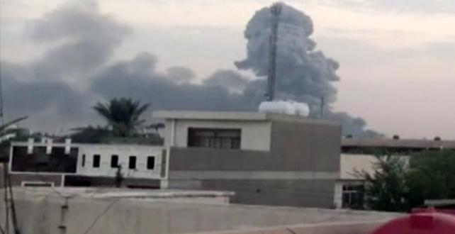 Bağdat'ta Şii milis gücü Haşdi Şabi'ye ait bir cephanelikte çıkan yangın sonucu patlamalar meydana geldi