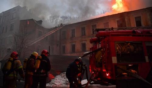 Ukrayna'nın Odessa kentindeki bir otelde yangında 8 kişi hayatını kaybetti, 10 kişi yaralandı