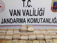 Van'da düzenlenen uyuşturucu operasyonunda 30 kilogram eroin ele geçirildi