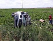 Nevşehir'in Acıgöl ilçesinde minibüs ile tır çarpıştı. 7 ölü,8 yaralı