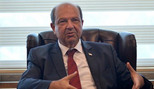 """KKTC Başbakanı Ersin Tatar, """"Bu coğrafyada Türkiye'nin ne kadar büyük ve iddialı olduğunu biliyoruz"""