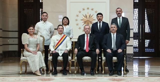 Cumhurbaşkanı Erdoğan,Endonezya, Filipinler,Irak ve Mali'nin Ankara Büyükelçilerini kabul etti