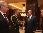 Bakan Çavuşoğlu, resmi temaslarda bulunmak üzere Lübnan'da