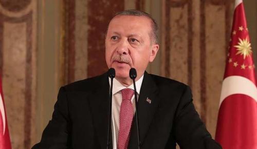 Cumhurbaşkanı Erdoğan, şehit olan polis memuru Hamdullah Kırtay'ın ailesine taziye dileklerini iletti
