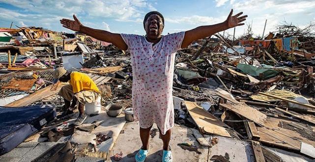 Birleşmiş Milletler Dorian Kasırgası'nın vurduğu Bahamalar'a 8 ton gıda yardımı gönderecek