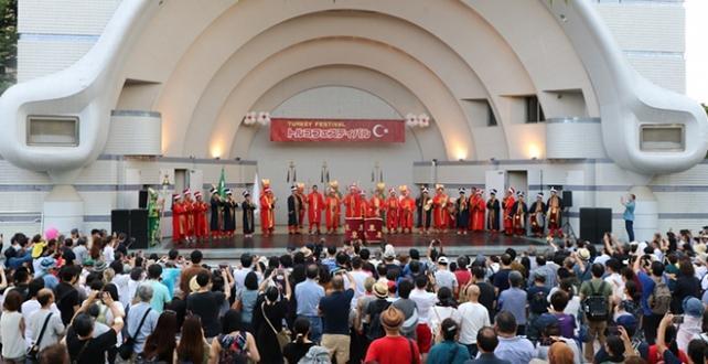 Türkiye Cumhuriyeti Tokyo Büyükelçiliği ve Yunus Emre Enstitüsü öncülüğünde düzenlenen Türkiye Festivali Yapıldı