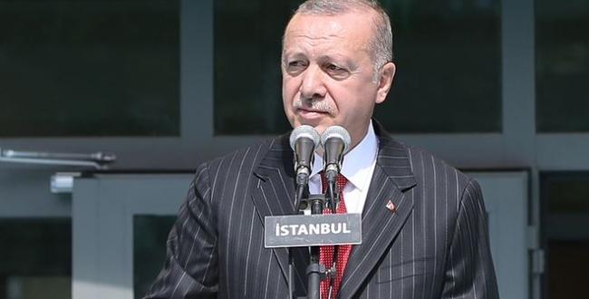 Cumhurbaşkanı Erdoğan, yeni eğitim öğretim yılının açılış töreninde Konuştu