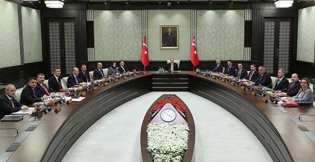 Cumhurbaşkanlığı Kabinesi, bugün Cumhurbaşkanı Erdoğan başkanlığında toplanacak