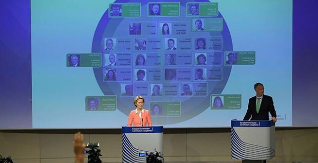 AB Komisyonu Başkanlı Komisyon üyelerinin görev dağılımı açıklandı
