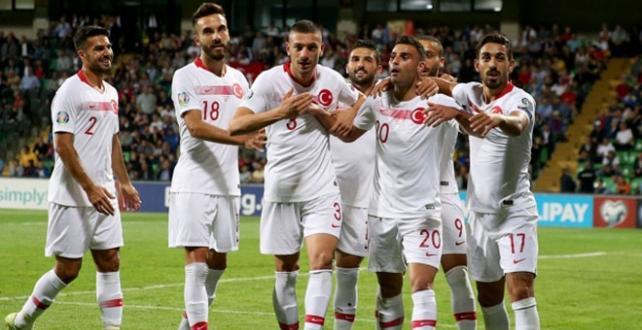 2020 Avrupa Futbol Şampiyonası Elemeleri H Grubu 6. hafta maçında Türkiye, Moldova'yı 4-0 yendi