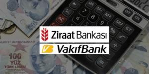 Ziraat Bankası ve VakıfBank kredi faiz oranlarını 16 Eylül'den geçerli olmak üzere düşürdü