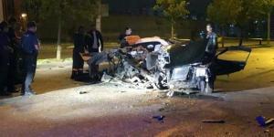 Ankara'da Kazada 2 kişi hayatını kaybetti, 1 kişi ise ağır yaralandı