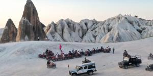 Kapadokya'da müze ve ören yerlerini bu yılın ocak-ağustos döneminde 2 milyon 522 bin 378 turist ziyaret etti