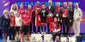 Şaziye Erdoğan, Tayland'da toplamda da altın madalya kazanarak dünya şampiyonu oldu