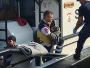 Edirne'nin Enez ilçesi açıklarında botları batan 39 düzensiz göçmen Yakalandı