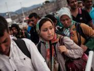 Yunanistan'ın başkenti Atina'da göçmenlere yönelik operasyonlar sürüyor