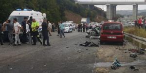 İstanbul Beykoz'da kazada 1 kişi öldü 2 kişi yaralandı