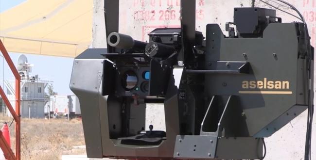 ASELSAN tarafından geliştirilen İhtar anti-İHA sistemine 40 milimetre bombaatar entegre edildi