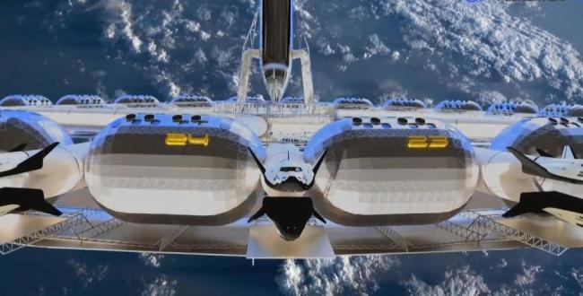 Uzayda konaklama ve tatil yapma fikri artık hayal olmaktan çıkabilir