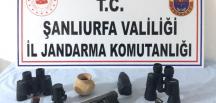 Şanlıurfa'da tarihi eser kaçakçılarına operasyon