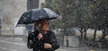 Meteoroloji `den Bölgeler için kuvvetli  yağış uyarısı