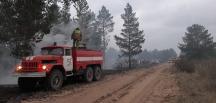 Kazakistan'da yangın kontrol altına alındı