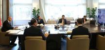 Cumhurbaşkanı Erdoğan, toplantıya Huber Köşkü'nden başkanlık ediyor