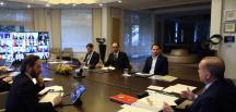 Cumhurbaşkanı Erdoğan, video konferans yöntemiyle belediye başkanlarına hitap etti