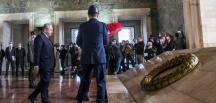 Meclis Başkanı Şentop ve devlet erkanı Anıtkabir'de
