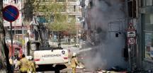 İstanbul Beylikdüzü Gürpınar'da doğal gaz hattında patlama