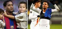 Futbolcu  Kluivert'in Roma forması giyen oğlu Justin İçin açıklama