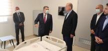 Cumhurbaşkanı Erdoğan ,salgın hastanesinde inceleme yaptı