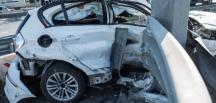 İstanbul'da Trafik  kazası yaralılar var