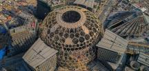 Expo 2020 Dubai fuarının yapılacak alanda yangın