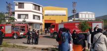 Kocaeli'nin Dilovası ilçesinde bir fabrikada kazan patladı