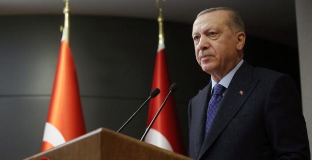 """Cumhurbaşkanı Erdoğan, """"Şehirlerarası seyahat sınırlaması 1 Haziran'dan itibaren tamamıyla kaldırılmıştır."""