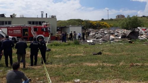 İstanbul Başakşehir'de bir fabrikada yangın